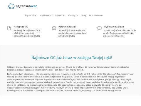 Najtansze-oc-ac.pl - tanie OC