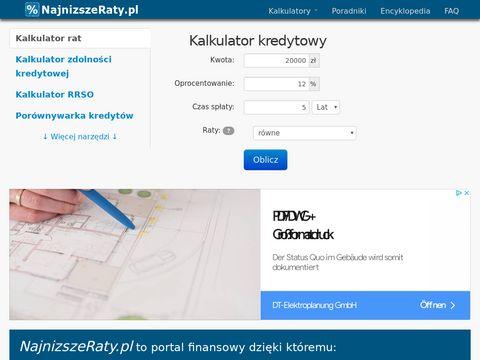 Portal NajnizszeRaty
