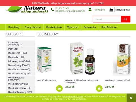 Natura-Akacka.pl sklep zielarski online