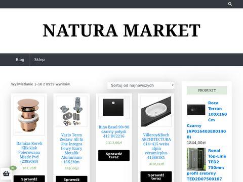 Natura Market - Kosmetyki naturalne i ekologiczne
