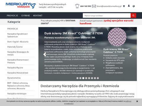 Narzedzia-merkury.pl sklep internetowy