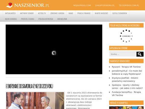 Naszsenior.pl - opieka geriatryczna