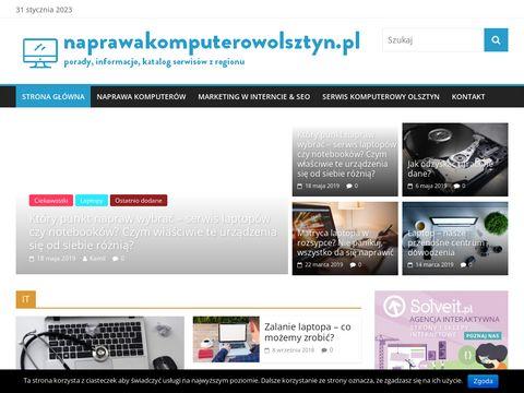Naprawakomputerowolsztyn.pl innowacje z branży IT