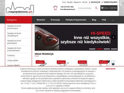 Napedowo.pl sklep internetowy