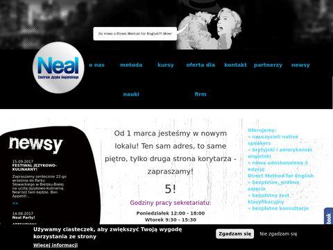 Szkoła języka angielskiego Neal
