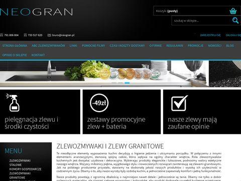 Neogran.pl - zlewozmywaki kuchenne Neogran