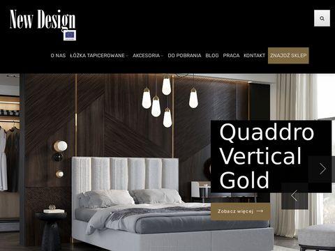 Newdesign.pl - producent łóżek tapicerowanych