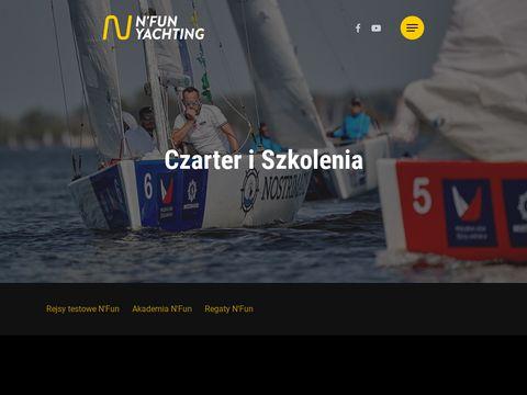 Nfuncharter.pl - czarter jachtów Giżycko