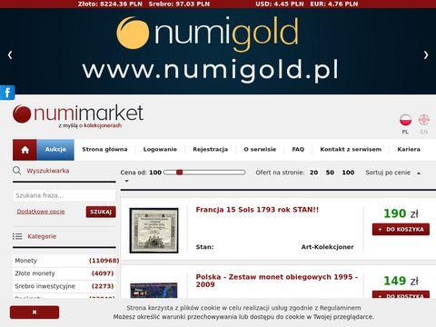 Numimarket.pl numizmatyka