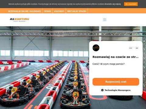 A1karting.pl gokarty Warszawa