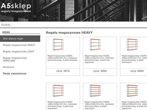 A5sklep.pl liny wspinaczkowe