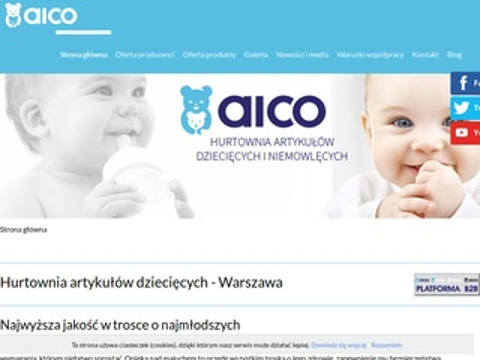 Aico hurtownie artykułów niemowlęcych
