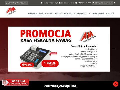 AiM Serwis sprzedaż urządzen biurowych