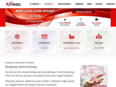 AirMAX - Internet dla Domu i Biznesu