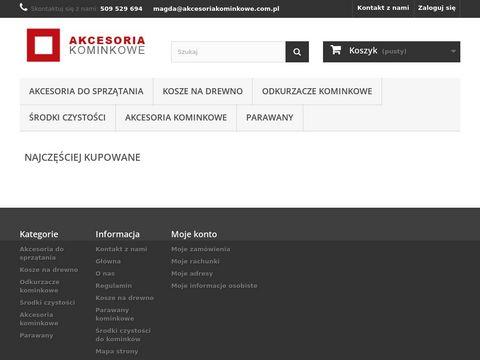 Akcesoriakominkowe.com.pl kosz na drewno