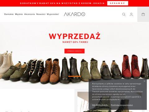 Akardo.pl buty sklep internetowy