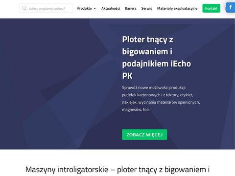 Akonda.pl - urządzenia introligatorskie