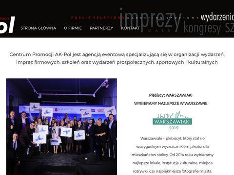 Imprezy integracyjne dla firm – centrum AK-Pol