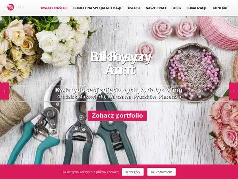 Amarant - kwiaty ślubne, sesje zdjęciowe