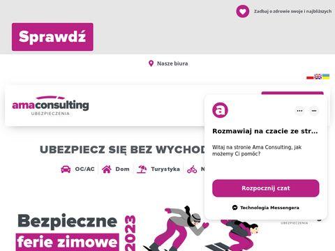 Amaconsulting.pl ubezpieczenia