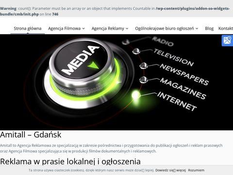 Amitall.pl prasa lokalna Gdańsk
