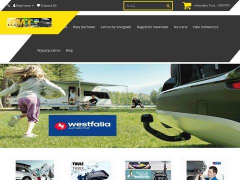 Amt-kostecki.pl bagażniki rowerowe boxy dachowe