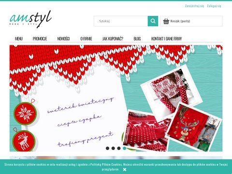 Amstyl.pl - sklep z odzieżą damską