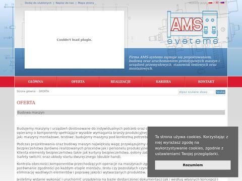 AMS-systems Budowa maszyn