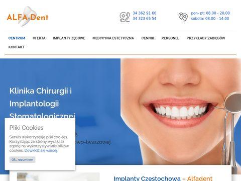 Alfadent Częstochowa - implanty zębowe