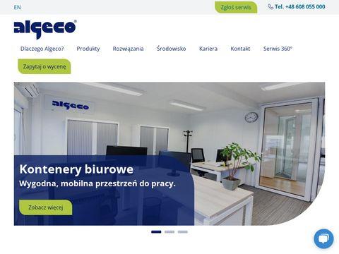 Algeco.pl kontenery wynajem