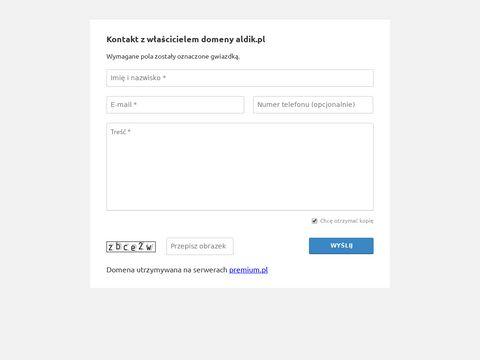 Aldik.pl - sklep spożywczy
