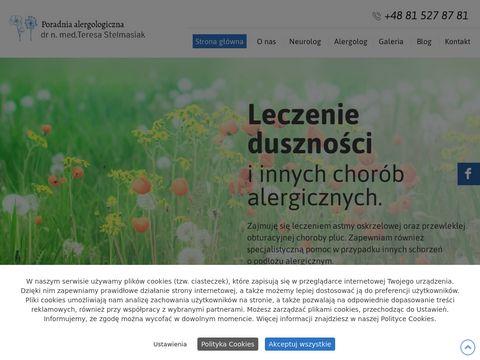 Stelmasiak Teresa Lublin alergologia Lublin