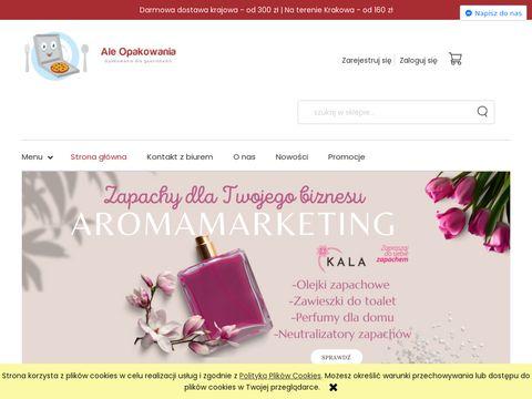 Aleopakowania.pl jednorazowe i wielokrotnego użytku