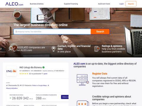 Elektroniczny przetarg - Aleo