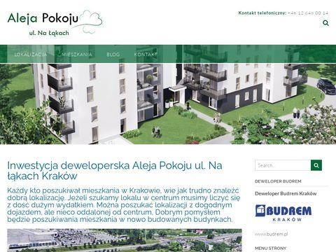 Aleja-pokoju.pl mieszkania Kraków