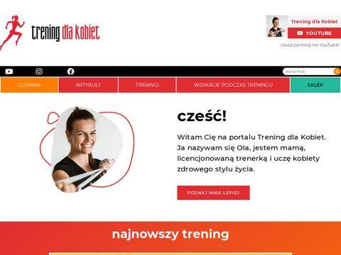 Aleksandrastefanska.pl trening osobisty Katowice