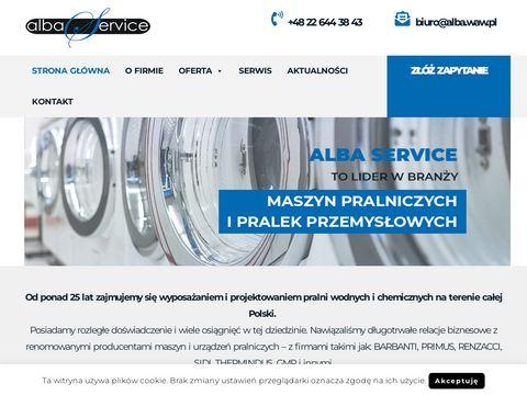 ALBA SERVICE pralnico-wirówki