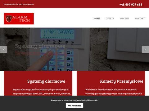 Alarmy, Kamery, Monitoring, Sejfy Alarmtech Kalisz