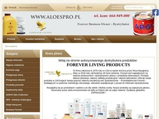 Aloespro.pl Forever Living Products