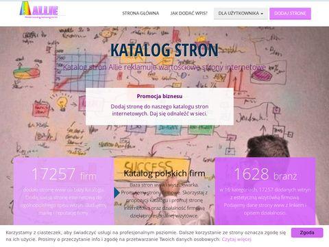 Allie.pl Katalog stron