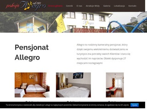 Allegro.wisla.pl pensjonat