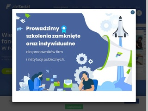 Allesocial.pl prowadzenia fanpage