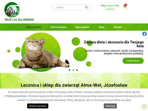 Alma-Wet szczepienie psów Piaseczno