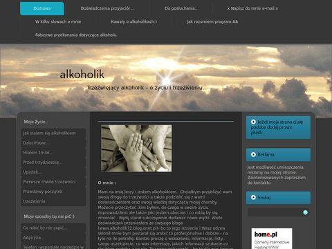 Alkoholik - strona o piciu i trzeźwieniu