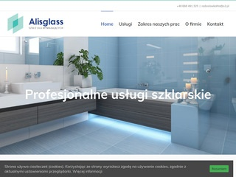 AlisGlass - szklarz Wrocław