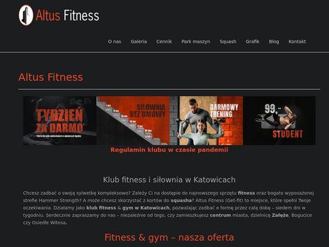 Altusfitness.pl największa siłownia