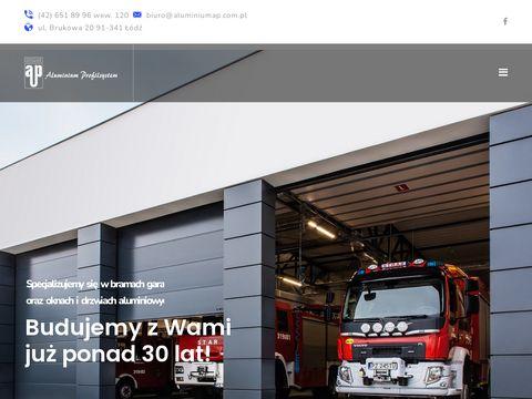Aluminium Profilsystem okna aluminiowe Łódź