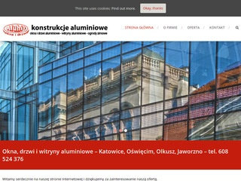 Aluhit - fasady, witryny, okna i drzwi aluminiowe