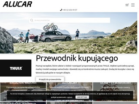 Bagażniki - sklep Alucar.pl