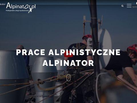 Alpinator.pl usługi wysokościowe